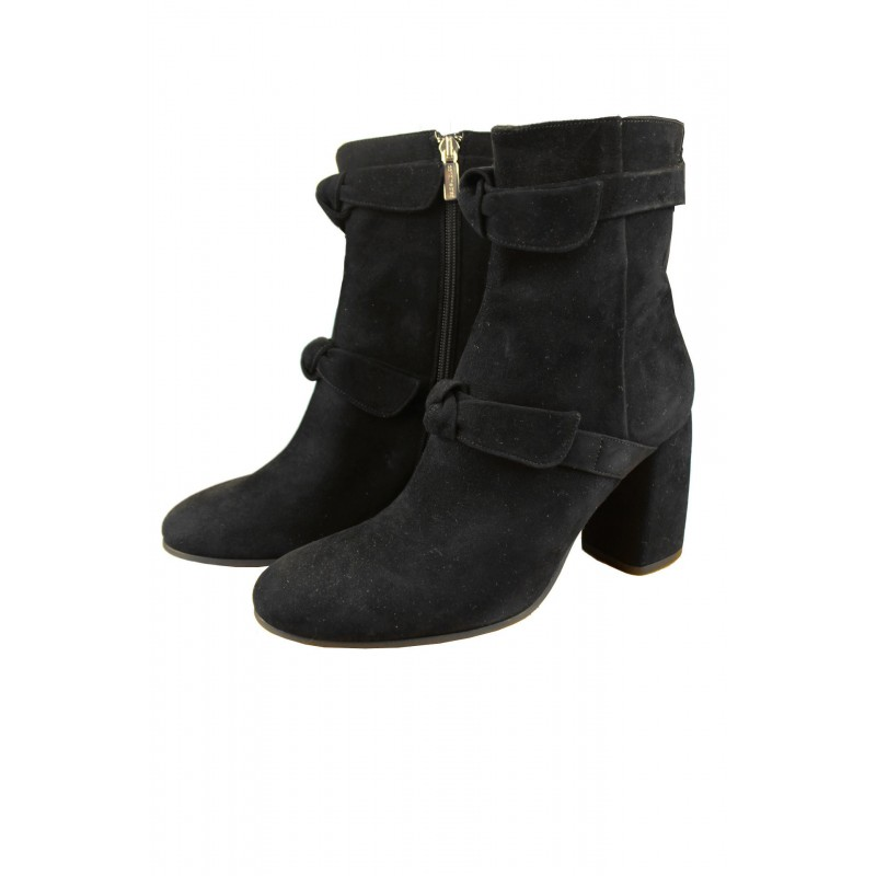 Caroline Biss Leather Boots