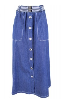 Caroline Biss Denim Skirt Savanna