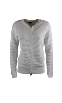 Caroline Biss cardigan with invisible zipper