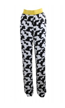 Caroline Biss casual trousers with print