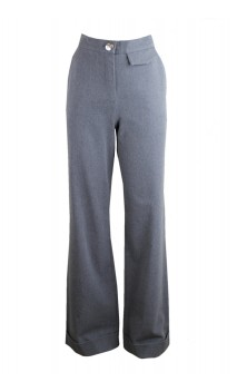 Caroline Biss elegant trousers with fold over
